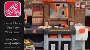 home depot kids tool bench step2 home depot pro play workshop and utility bench youtube