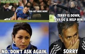 John Terry Meme - john terry eva and mourinho troll football