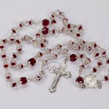 silver bell rosary rosaries and chaplets by sue