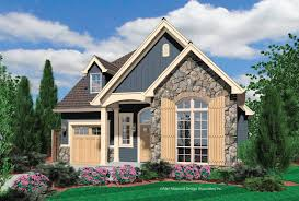 stone exterior house plans