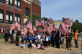 Michigan Flags The Michigan Legion Donates Classroom Flags To Detroit
