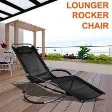 rocking recliner garden chair tinkertonk moon rocker garden chair portable rocking sun lounger