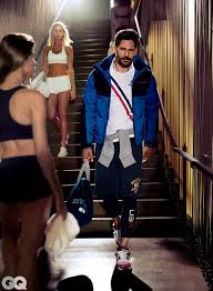 Celebrity Clothing For Men Joe Manganiello Sports The Most Stylish Gym Clothes Joe