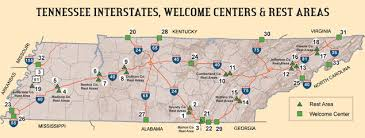interstate 26 map welcome centers rest areas tn gov