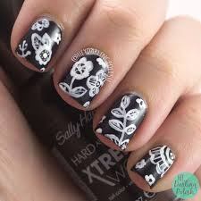 30 super creative black and white nail art designs be modish