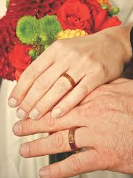 touch wood rings put a ring on it one s alternative to traditional wedding