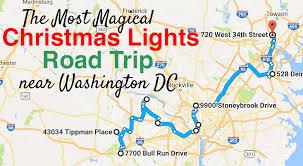 spirit halloween glen burnie md the beautiful christmas lights road trip to take in washington dc