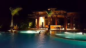 Pool At Night Chilling By The Pool At Night In Bayleaf Cavite Youtube