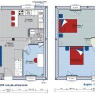 plan maison etage 3 chambres plan maison plain pied 3 chambres gratuit plans maison prix