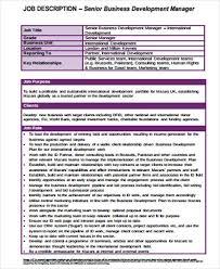 business owner job description for resume business development manager job description image gallery of