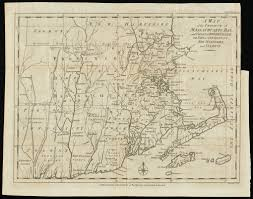 New London Ct Map A Map Of The Province Of Massachusets Bay And Colony Of Rhode