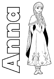 frozen coloring pages on computer