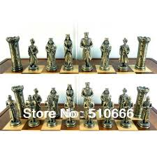 Metal Chess Set by Set Clock Picture More Detailed Picture About International