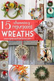 how to make wreaths diy christmas decorations how to make unique wreaths