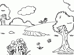 rainbow coloring pages nature coloring pages nature coloring