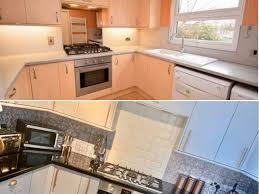 spray painting kitchen cabinets scotland diy novice is inspiring lockdown mums to redecorate with