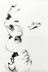 flamenco dancer life drawing by william liao pen u0026 ink ink