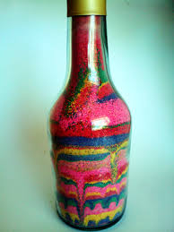 sand art bottle my kid craft