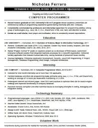 programmer resume exle best essays au bestessayscomau resume template computer
