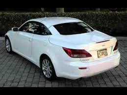 convertible lexus for sale 2010 lexus is 250c convertible ft myers fl for sale in fort myers