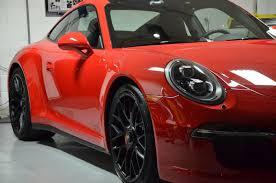maroon porsche 2015 porsche 911 carrera gts cquartz finest aowheels detail