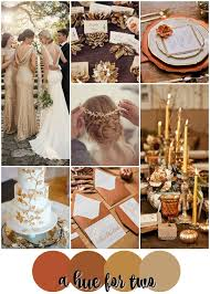 Fall Backyard Wedding by Best 25 Burnt Orange Weddings Ideas On Pinterest Orange Wedding
