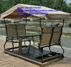 patio swing chair with canopy 5602