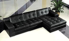 Contemporary Black Leather Sofa Outstanding Fabulous Contemporary Black Leather Sofa Modern