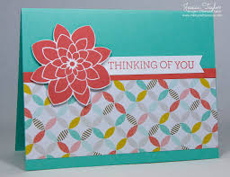thinking of you cards about you cards ink it up with card ideas