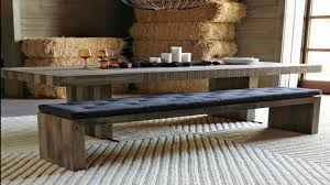 Long Kitchen Tables by Long Kitchen Table With Bench Youtube