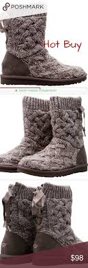 s isla ugg boot grey ugg isla sweater boot wool socks sweater boots and boot