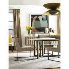 round table hermosa beach theodore alexander hermosa table honed white marble top dining table