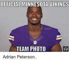 Vikings Meme - official minnesota vikings nfl memes team photo adrian peterson