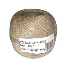 ficelle de cuisine ficelle chapelière 200 g 42 0140 corderie tournonaise home