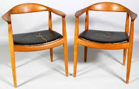 hans wegner kennedy chair original teak wood mid century hans