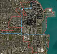 Chicago District Map by Chicago Has A Law That Defines Where The U201cdowntown Area U201d And