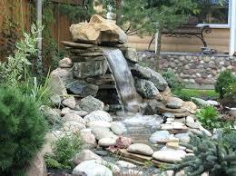 Garden Waterfall Ideas Small Waterfall For Backyard Jacketsonline Club