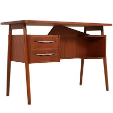 Small Teak Desk Small Teak Desk By G Tibergaard For Ikast Møbelfabrik Denmark At