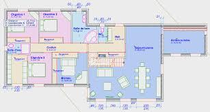 plan maison etage 4 chambres 1 bureau maison plain pied sur sous sol atelier sur parcelle de 3900 m2