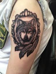Wolf Indian Tattoos - 55 wolf designs and design