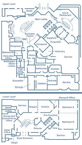 rogers center floor plan event space floor plans