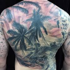 beach scene tattoo 60 awesome beach tattoos nenuno creative
