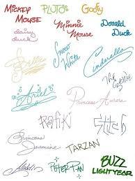 pinterest u0027te 25 u0027den fazla en iyi disney signatures fikri