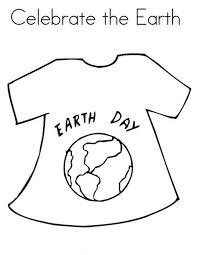 earth day campaign t shirt coloring sheet batch coloring