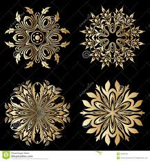 vector gold ornaments stock vector image 45368392