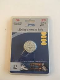 imtra marine lighting led nos imtra marine lighting boat g4 side entry led light bulb ilg4