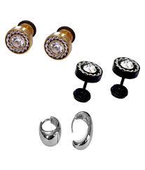 earring for men men earring mens stud mens stud combo earring buy online at low