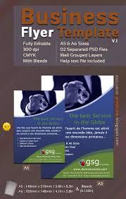 downloadable free business flyer template v 1 printriver