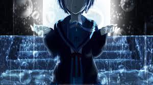 sad anime subtitles nagato yuki wallpaper zerochan anime image board