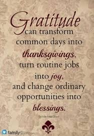 gratitude on thanksgiving quotes like success